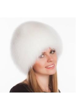 Меховая шапка Сноп белый