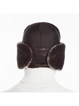 Меховая шапка ушанка искуственный мех