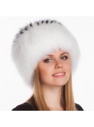 Меховая шапка Белая Барбара