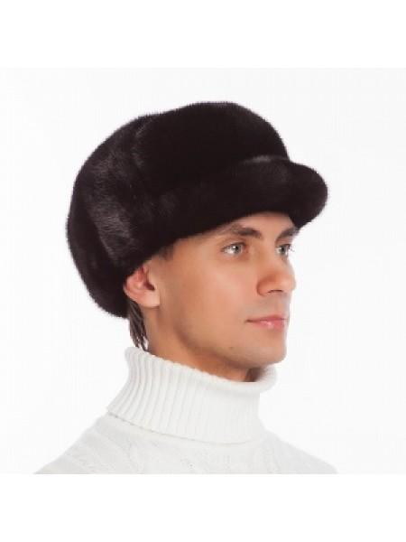 Мужская кепка из норки