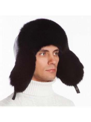Мужская меховая шапка из кролика